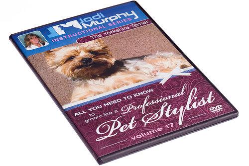 Volume 17 Yorkshire Terrier Dvd Jodi Murphy Grooming Products