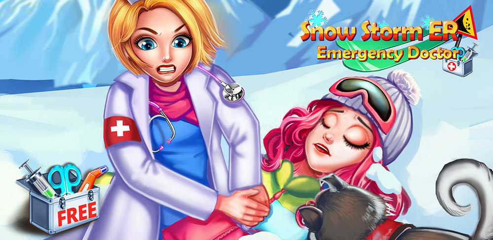 Kids Doctor Game Emergency ER  DOCTORS NEEDED! Play as a doctor for many various medical treatments!