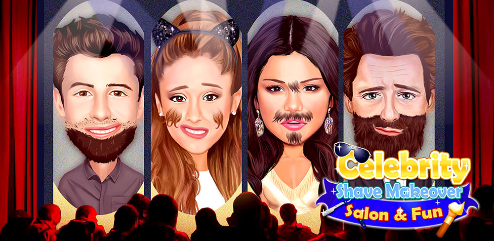 Celebrity Beard Shave Those celebrities and super stars need your help! In your own beard salon, you can help them to be cool again!