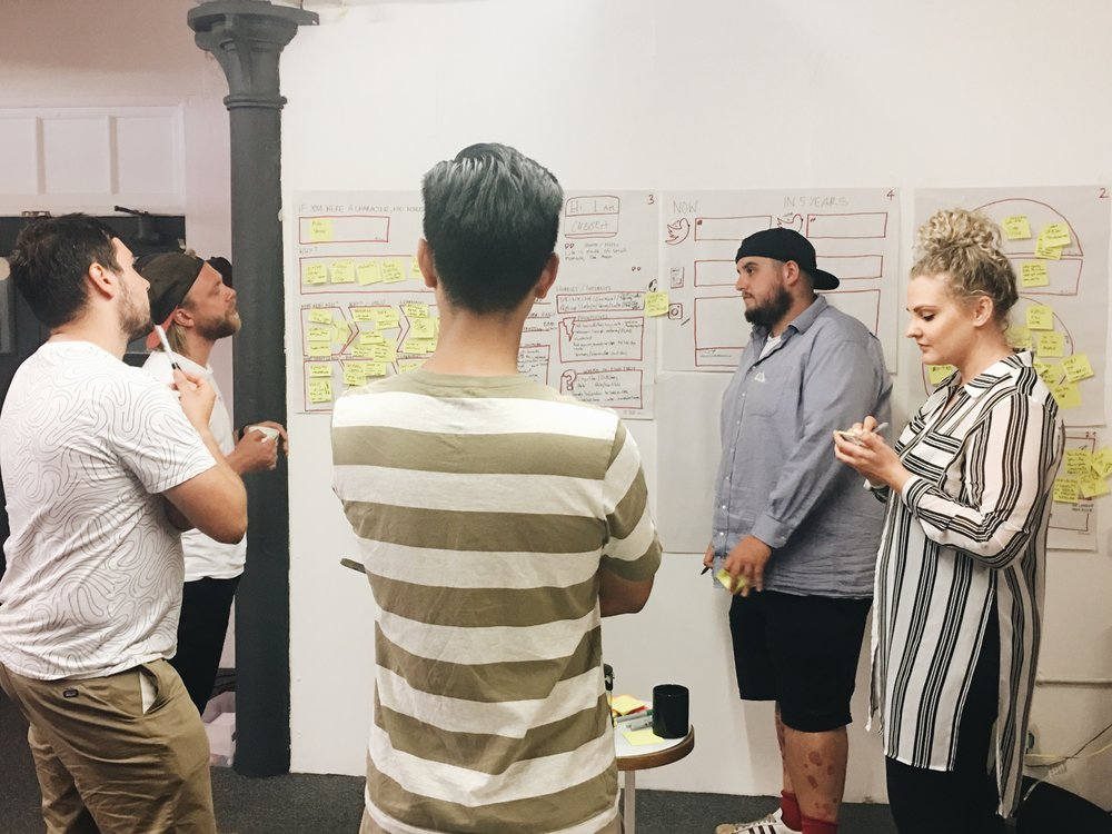 Co-Creation workshop with ShinDigger's Cofounder.