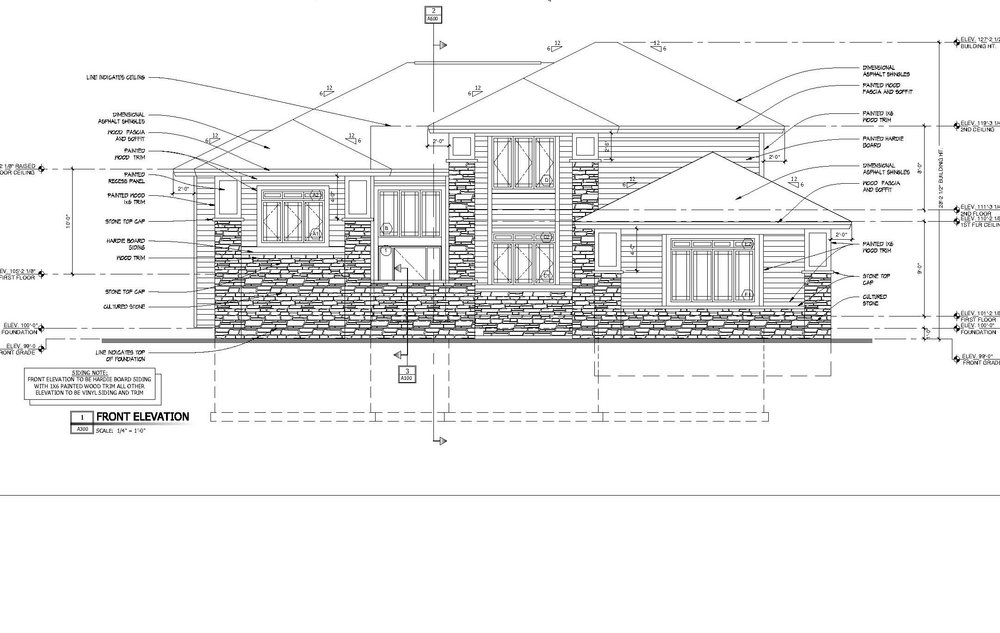 Home Plans - Milford Residence