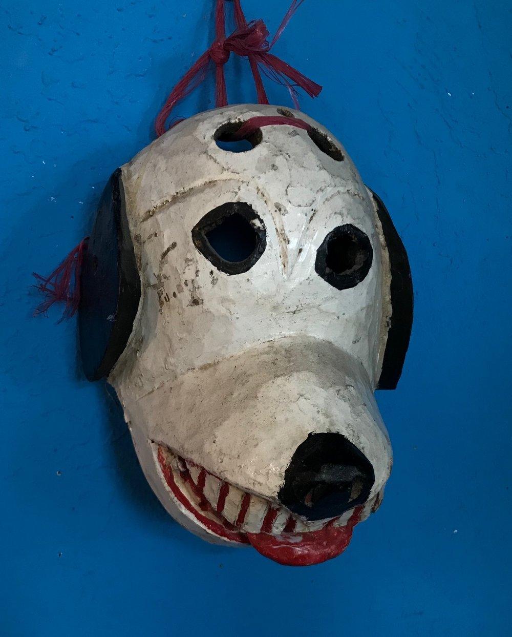 Guatemalan Dog Mask