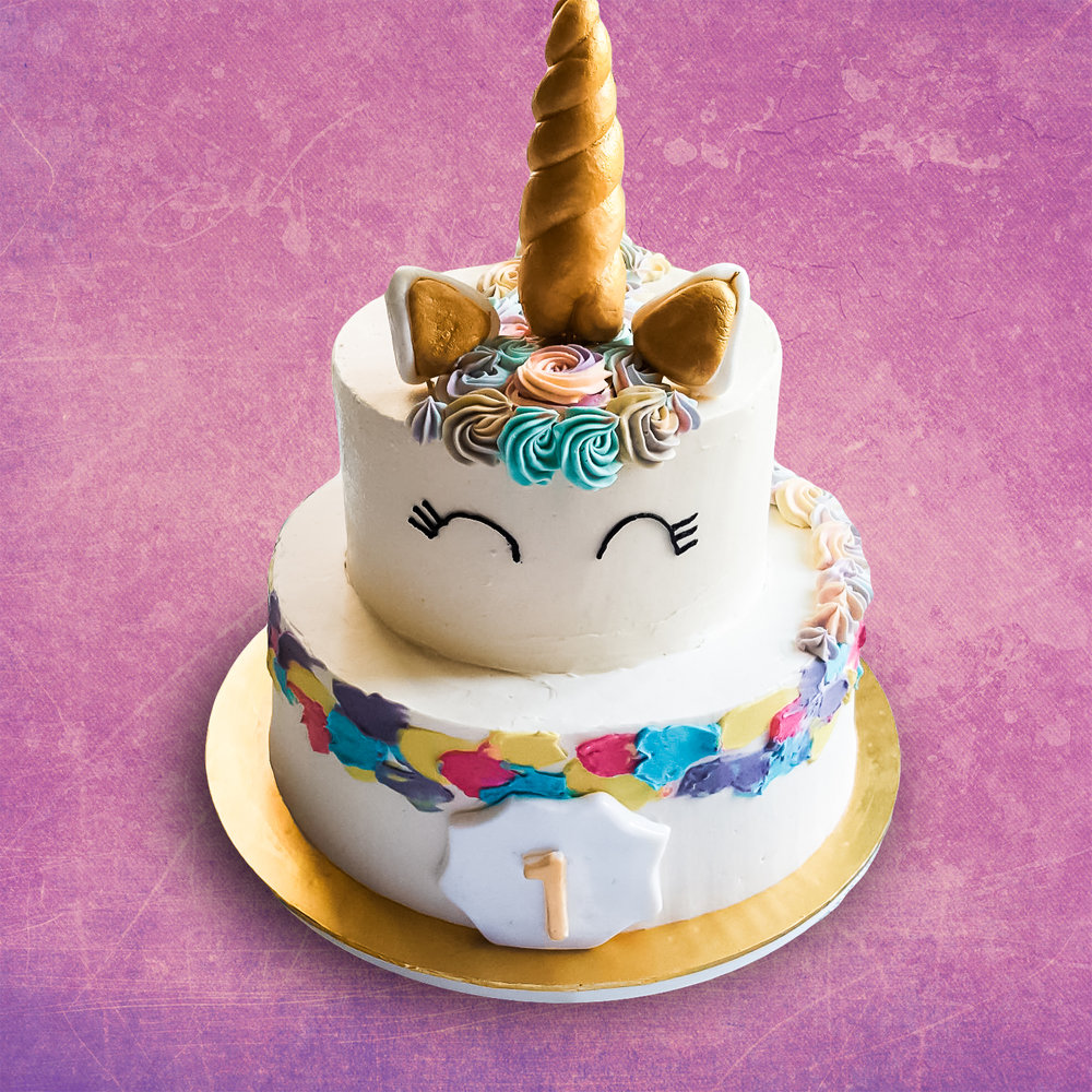 UNICORN CAKE 2 TIER The premium madetoorder cake specialist