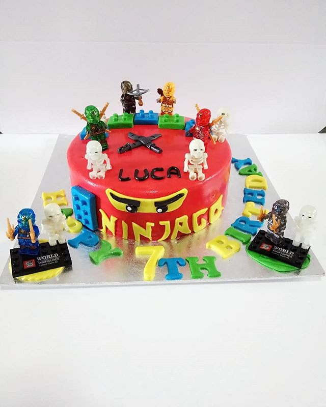 Customised Lego Ninjago cake for Luca! Make any celebration magical with Homebakee! 😊  Looking for a highly customizable cake? Need a personalized themed dessert table with customized baked goods? From cakes to cupcakes.. we do it all! 🎂🍩🍪🍰🥧 Call the Cakeman right now!! • Call or whatsapp The Cakeman right now @ +65 9037 2990 • Choose from our catalogue of cakes on our website. Link in bio ☝🏻 • #homebakee #thecakeman