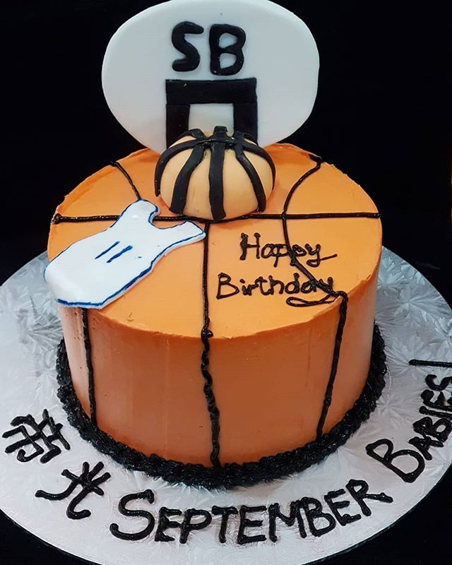 Customized basketball themed cake with a tiny jersey to top it off! Make any celebration magical with Homebakee! 😊  Looking for a highly customizable cake? Need a personalized themed dessert table with customized baked goods? From cakes to cupcakes.. we do it all! 🎂🍩🍪🍰🥧 Call the Cakeman right now!! • Call or whatsapp The Cakeman right now @ +65 9037 2990 • Choose from our catalogue of cakes on our website. Link in bio ☝🏻 • #homebakee #thecakeman