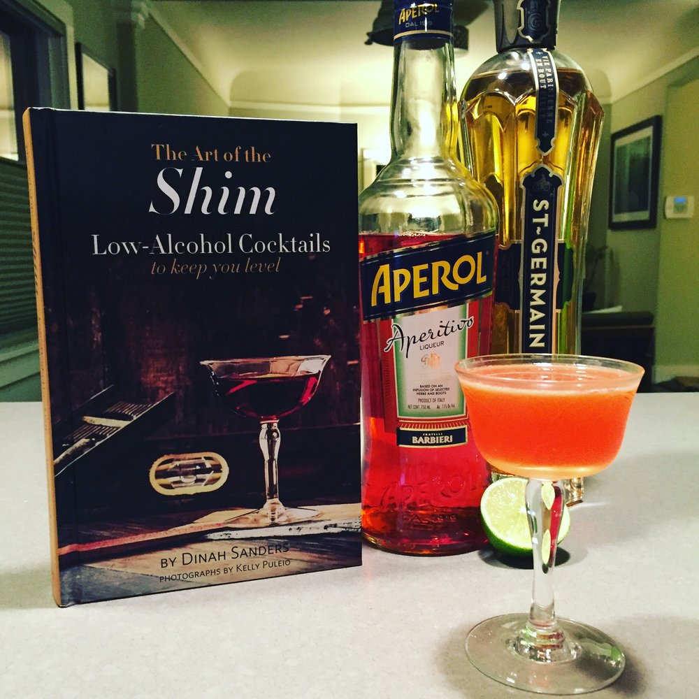This tasty sipper is the Apparent Sour from bartender Bobby Heugel. Three ingredients, lots of deliciousness.