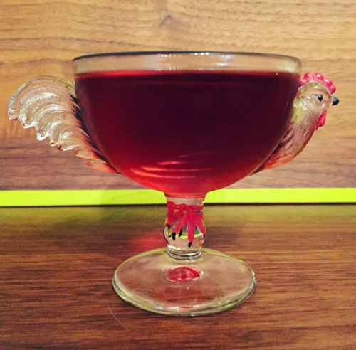 Boulevardier. Rooster. Let's do this.