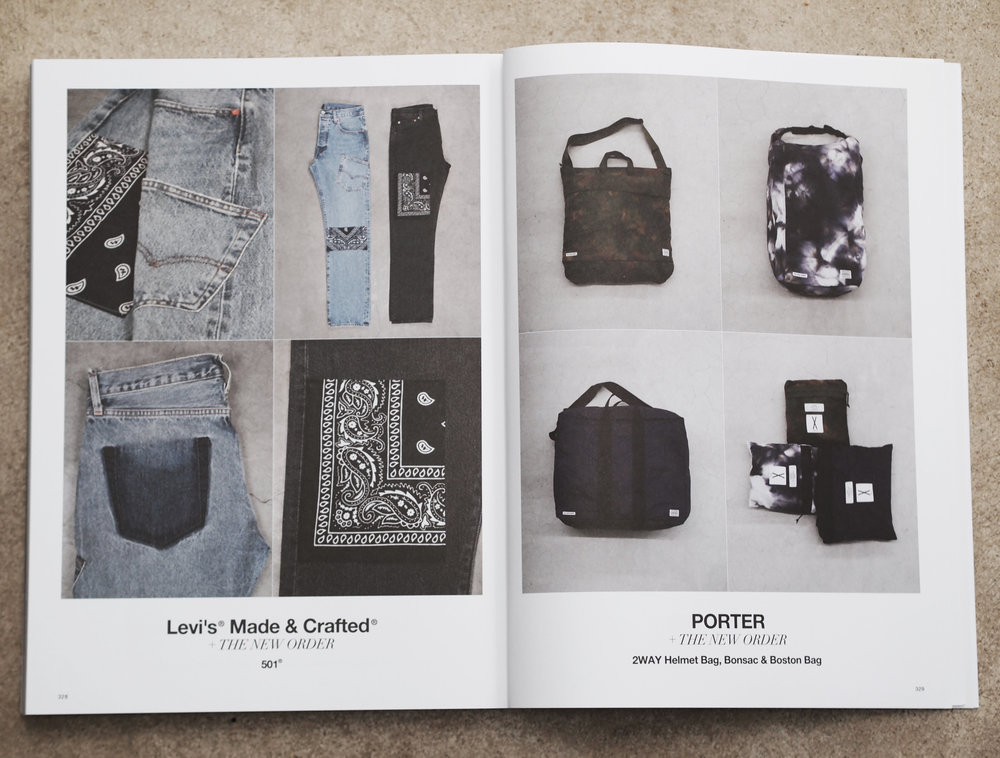 10th Anniversary product with Porter Yoshida and Levi's Made & Crafted /