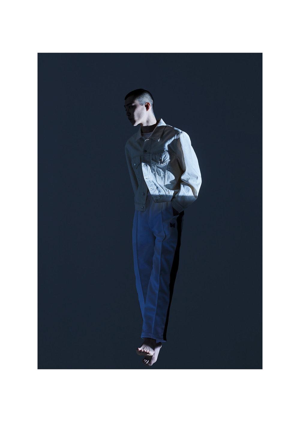 1. Shirt - Margaret Howell 2. Jacket - Helmut Lang Trousers - Needles (both Mr Porter)