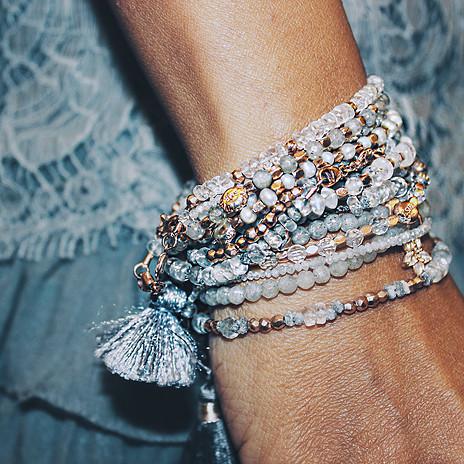 Handcrafted Bracelets Semi-precious Stones
