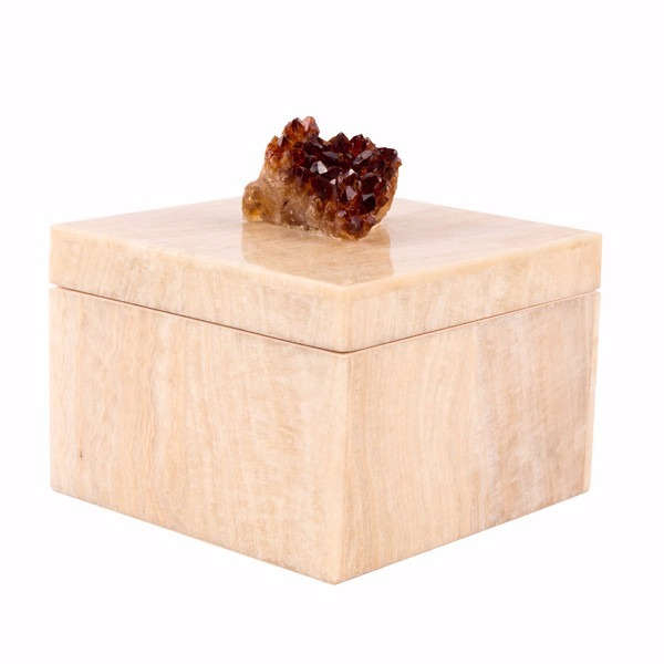Crystal Box Mactan Crystal Stone and Citrine