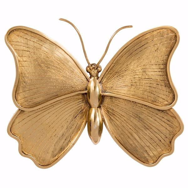 Butterfly Paperweight   Brass Mariposa