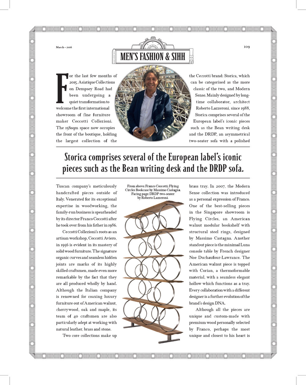 Robb Report, March 2016
