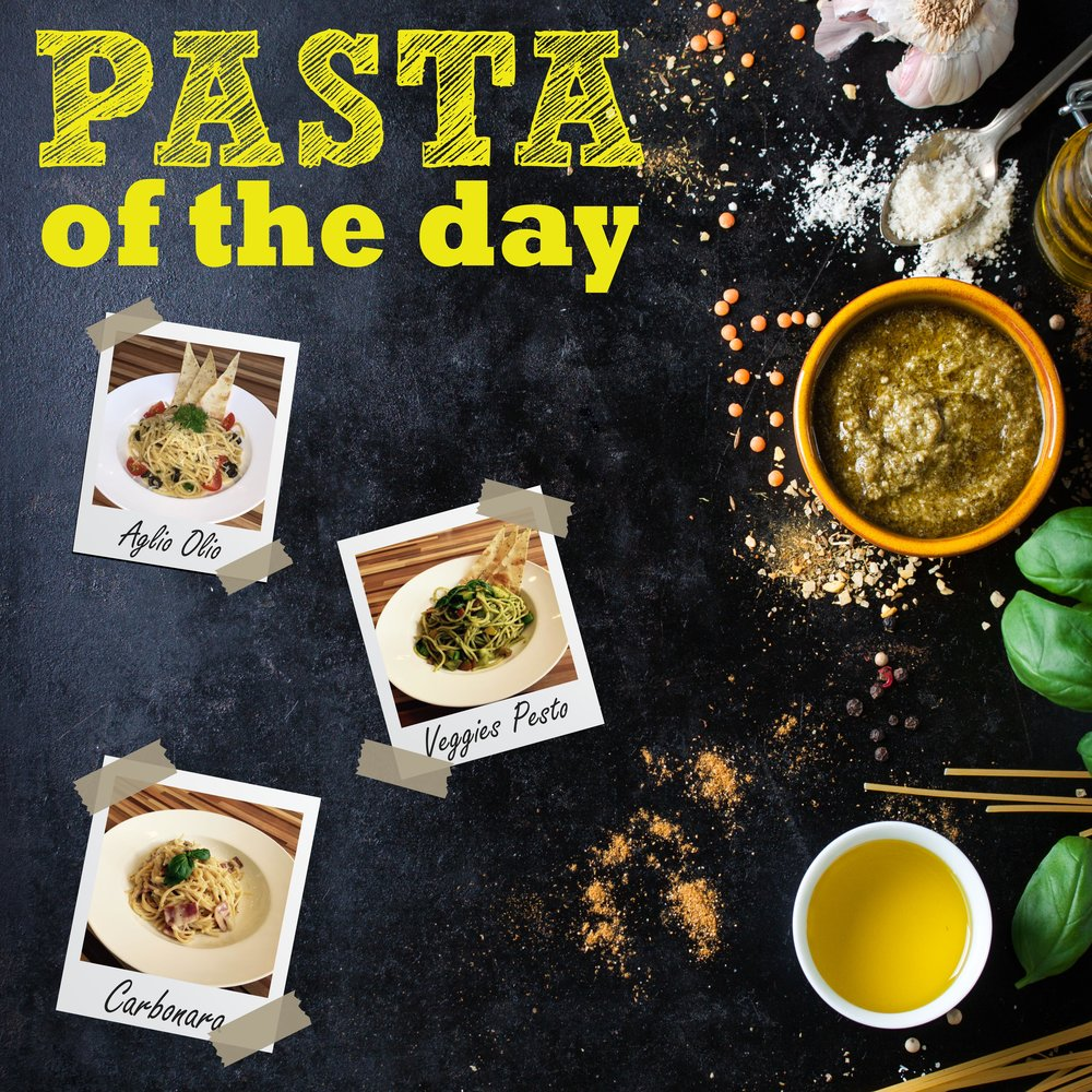 Pasta of The Day (Mother's Day)