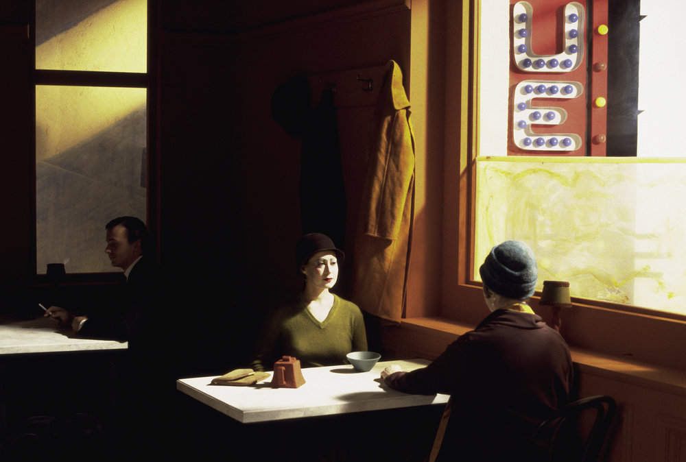 Chop Suey (after Edward Hopper)