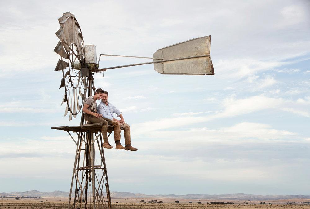 Russell Crowe & Ryan Corr  The Water Diviner