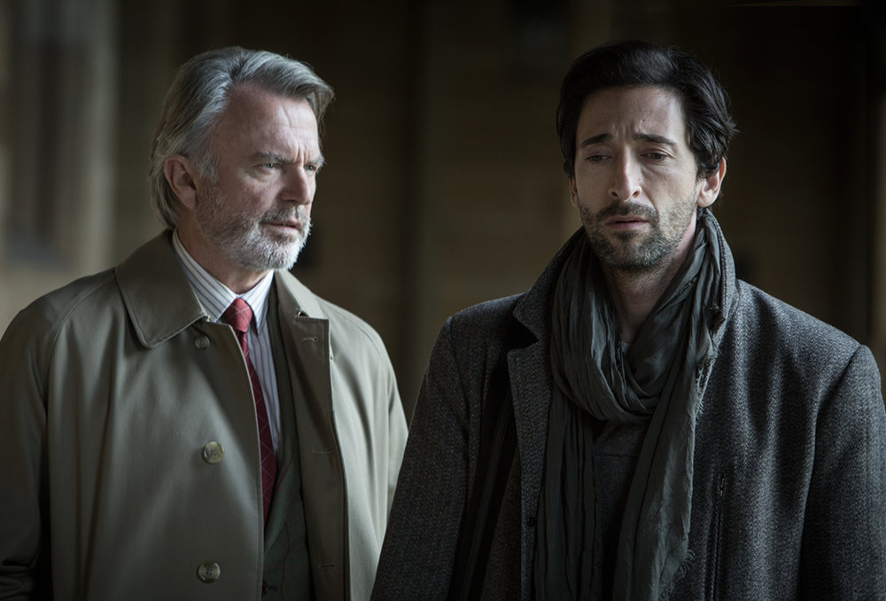 Sam Neill & Adrien Brody   Backtrack