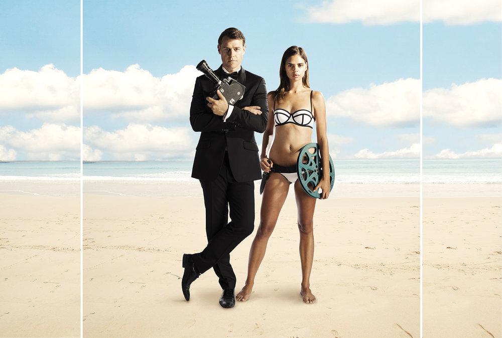 Rodger Corser & Samela Harris