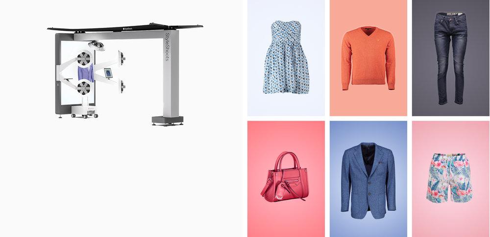 StyleShoots Vertical - Aufnahmen von Mannequins für eCommerce mit automatischer Hintergrundentfernung und extrem einfach zu verwenden.Mehr Erfahren