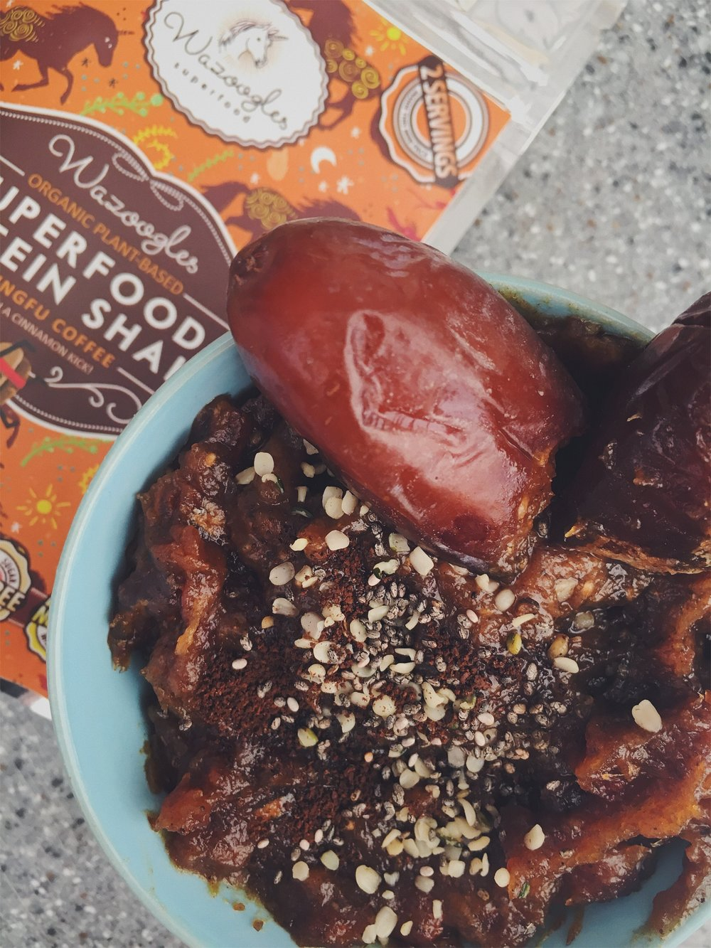 Caramel 2.0 (ie.: With added superfoods).