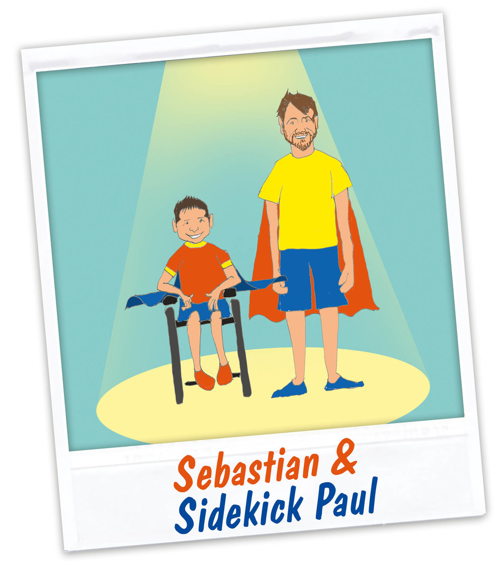 Superhero Sebastian U0026 Sidekick Paul