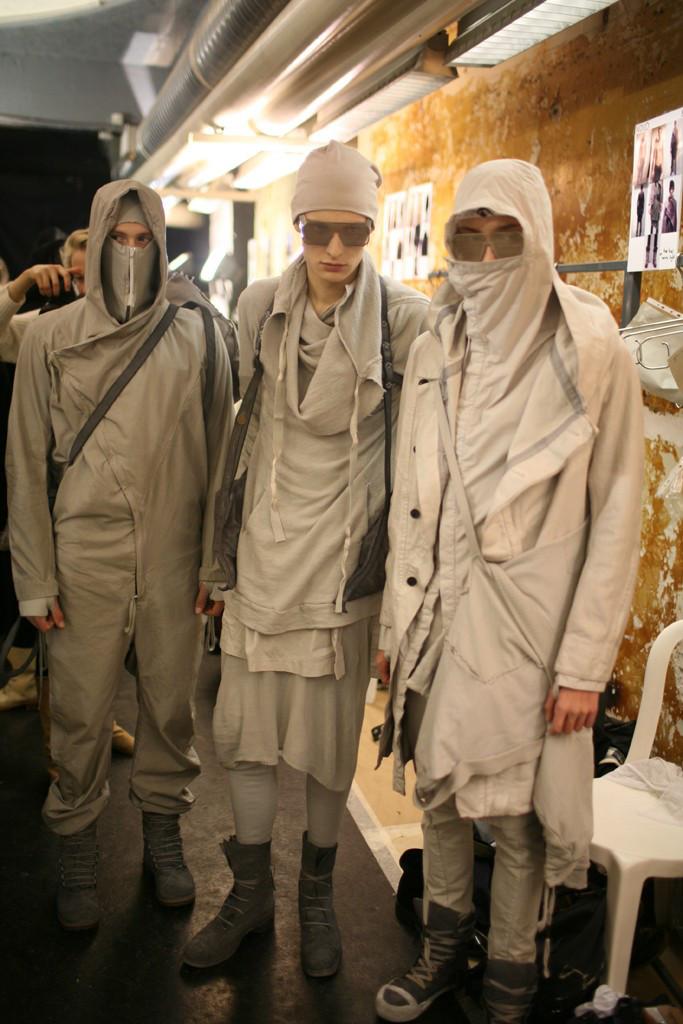 More brilliantly dystopian fashion. Photo by  Kuba Dabrowski