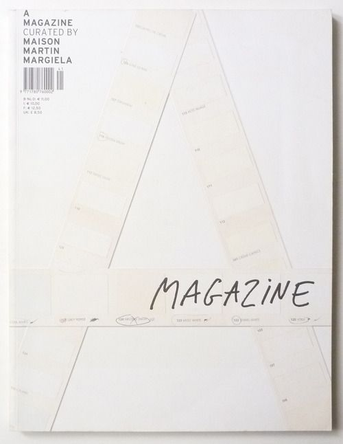 Brilliant and creative magazine cover by  A Magazine Curated By