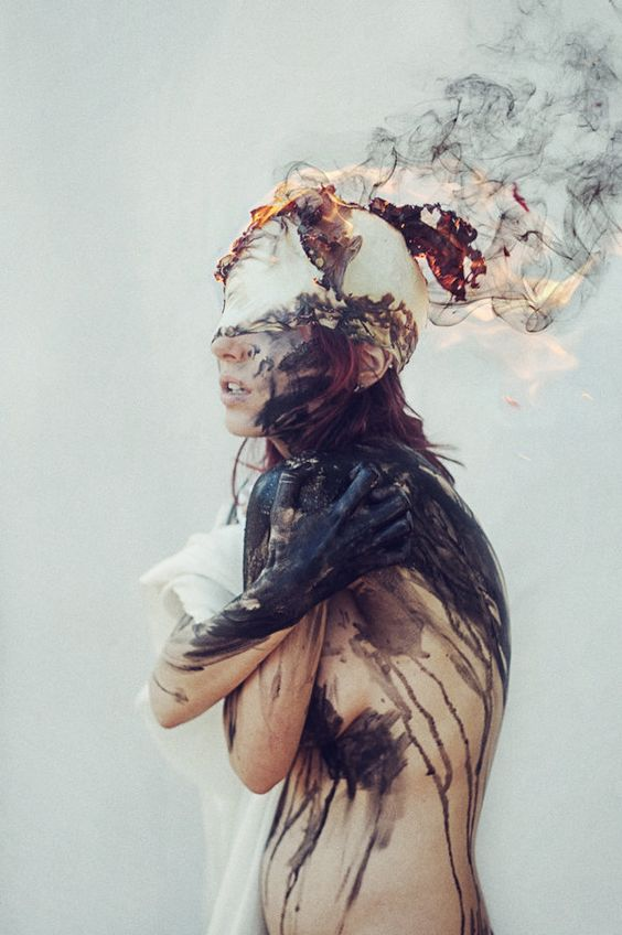 Emotive 'anxiety' image by  Beethy Photography