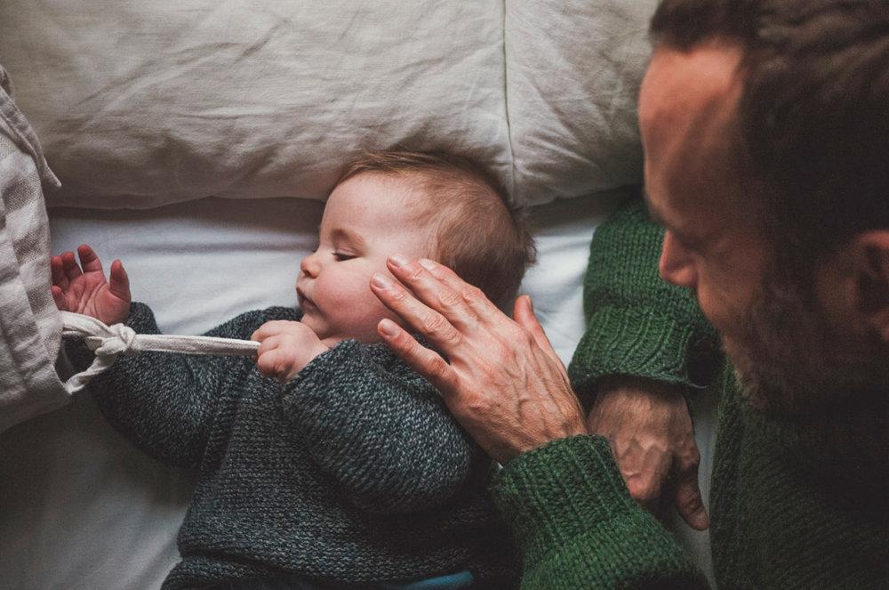 Papá y bebé
