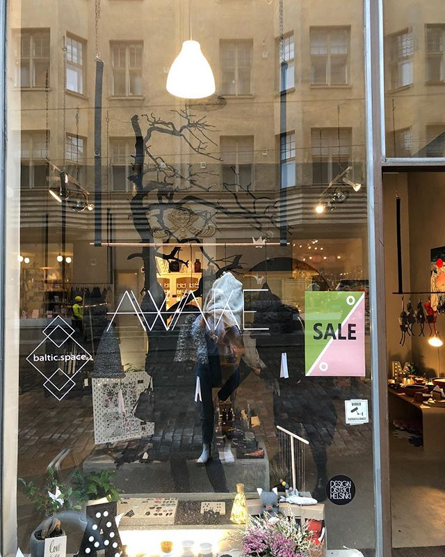 Sale is on at @awake_helsinki ✔️all jewellery and knits -20% ✔️tableware -25%  #sale #helsinki #balticdesign #awakecollective