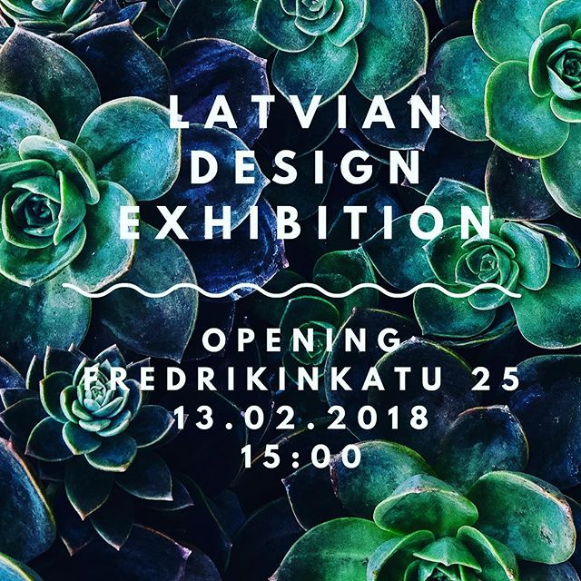 Next Tuesday we are opening very special Latvian Design Exhibition! Join us #exhibition #helsinki #design #latvia #latviandesign #magneticlatvia