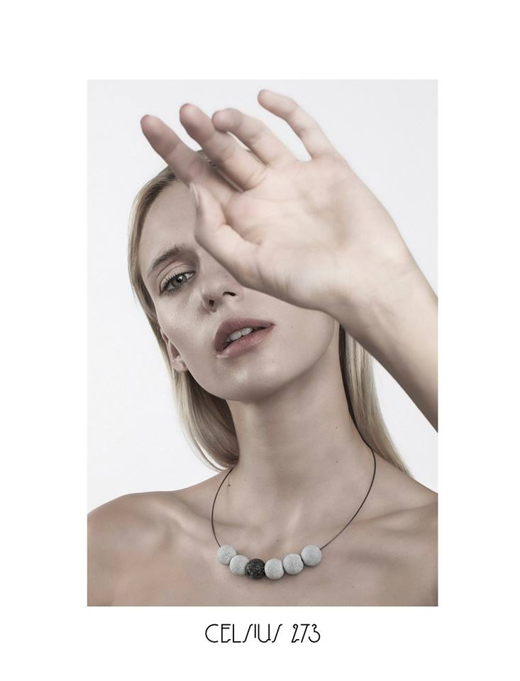 CELSIUS 273  Lithuanian jewellery brand making asketic pieces from lightweight cement