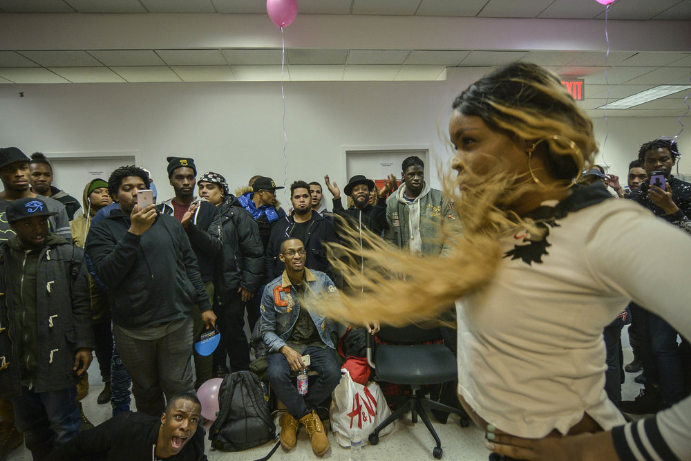 Walking Runway at the Bronx Community Center. Photography by Nadia Horsted Narejo.