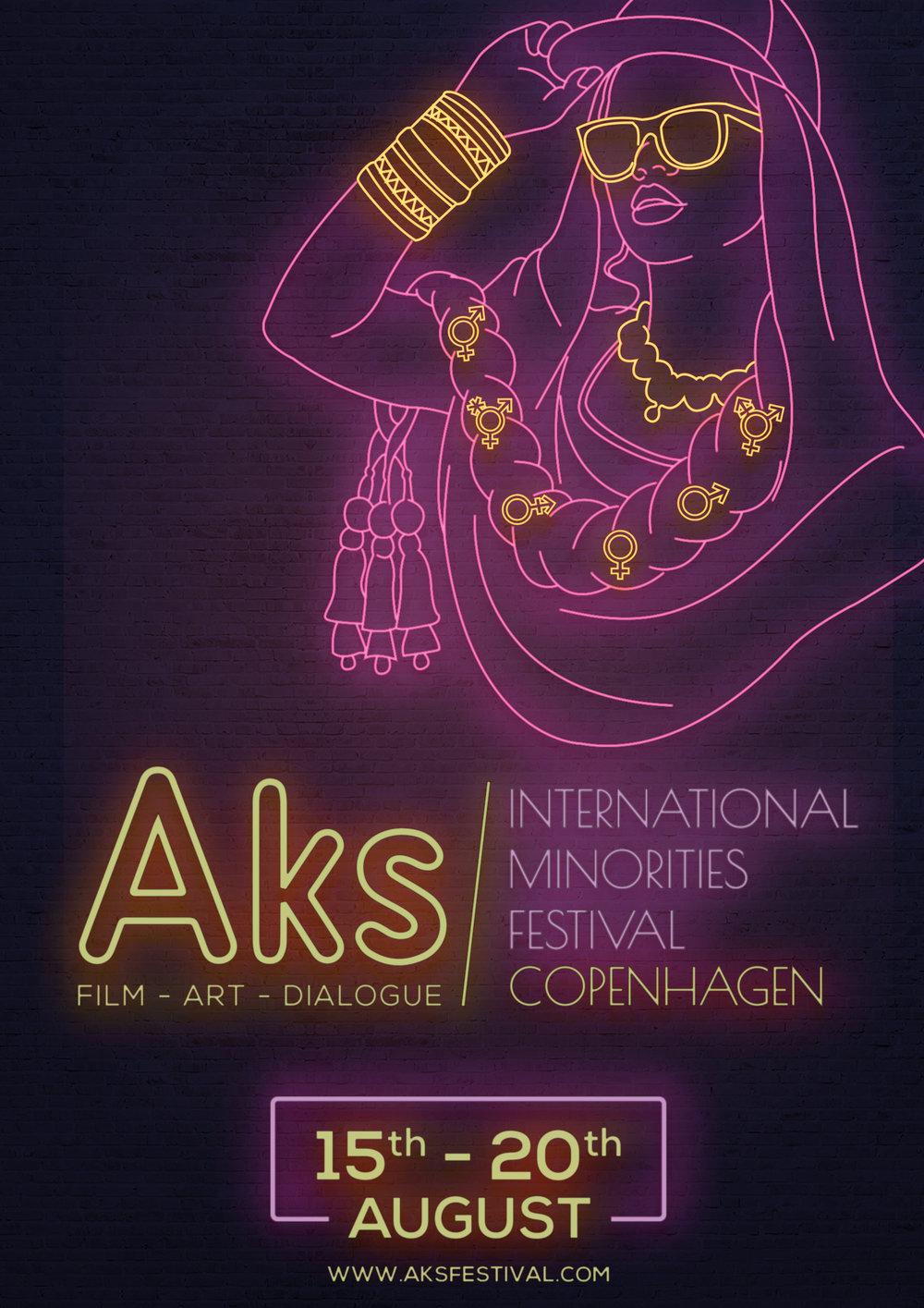 Festival poster by Shahnawaz Memon