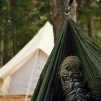 maine glamping | maine camping | camping gear | eno hammock