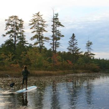 maine paddleboarding | maine glamping | glamping in maine | maine camping | camping in maine