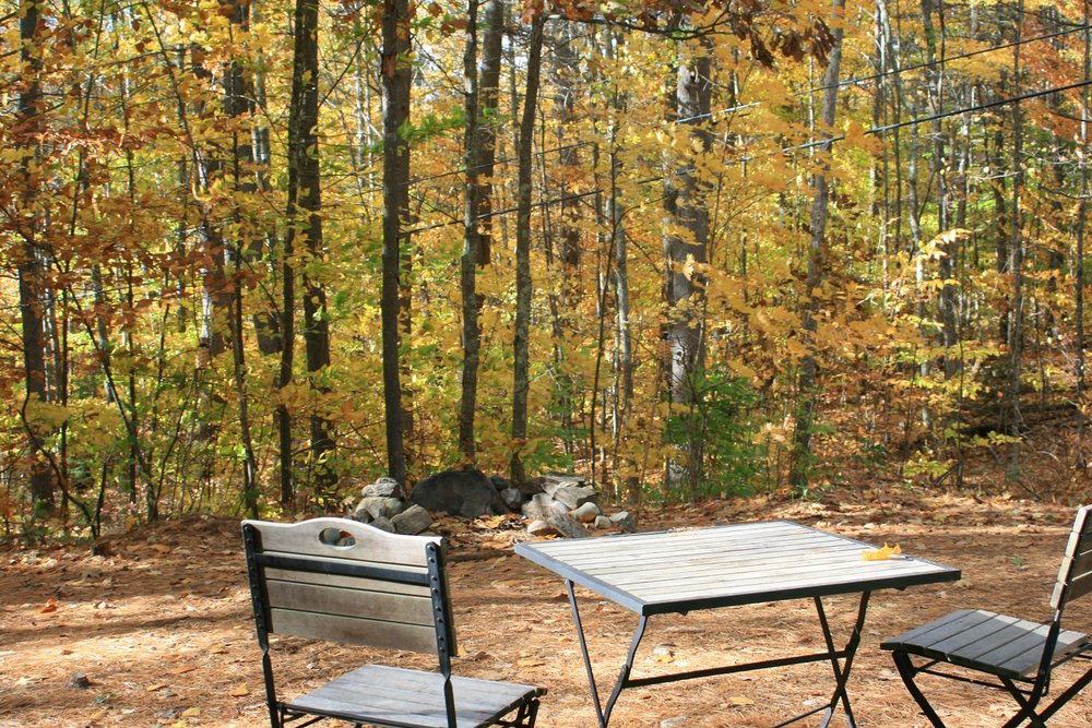 Maine Fall Foliage   Maine Glamping   Maine Camping