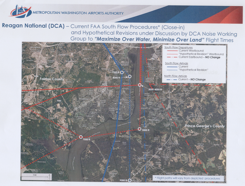 Figure 2: The controversial FAA proposal to revise South Flow departures