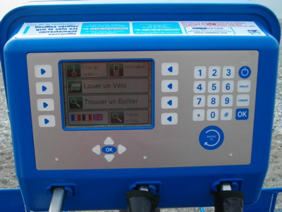 Bike Hire User Interface