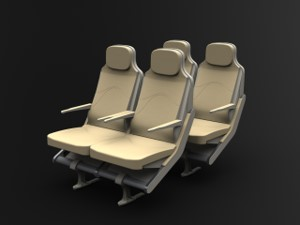 Designing a Lightweight Economy Aircraft Seat