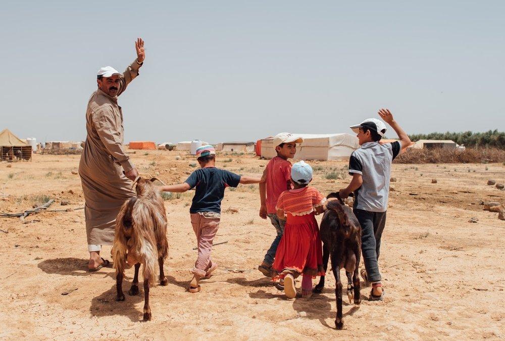 Photo by Mike Walton, al-Mafraq Jordan