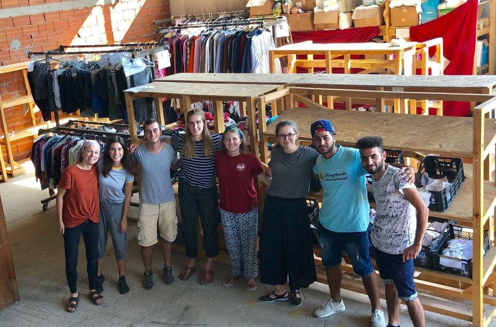 AID DISTRIBUTION & WAREHOUSE - - Quarterly clothing
