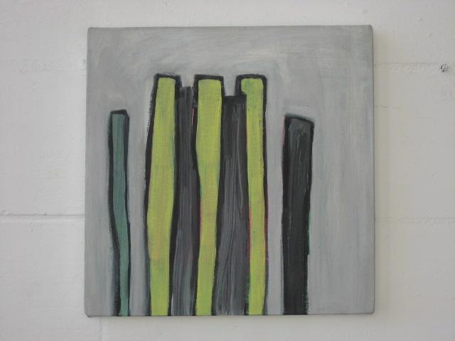 To G.M. acrylic on canvas 41cm x 41cm 2007