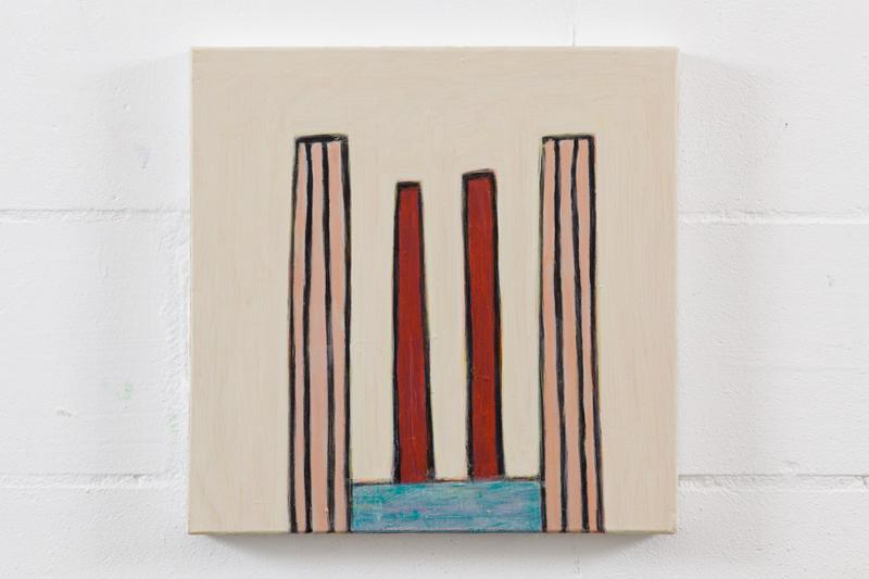 To G.M. no. 3  acrylic on canvas  30cm x 30cm  2015