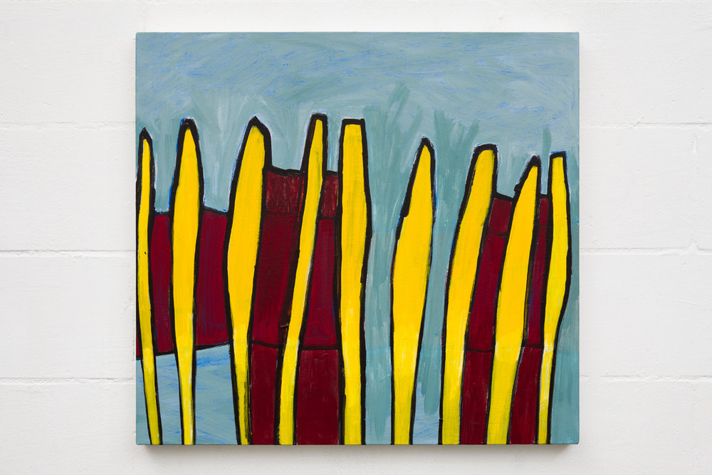 Out of line no. 3   acrylic on canvas   71cm x 76cm   2010