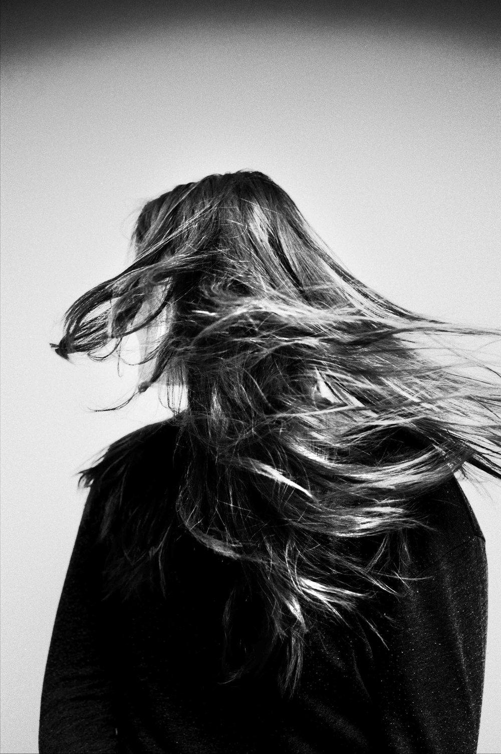 Claire Berdik Dancing Hair