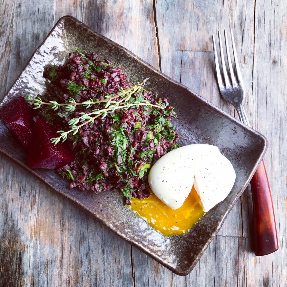 Black Rice & Bone Broth recipe made with bone broth created by Bone Brewhouse.