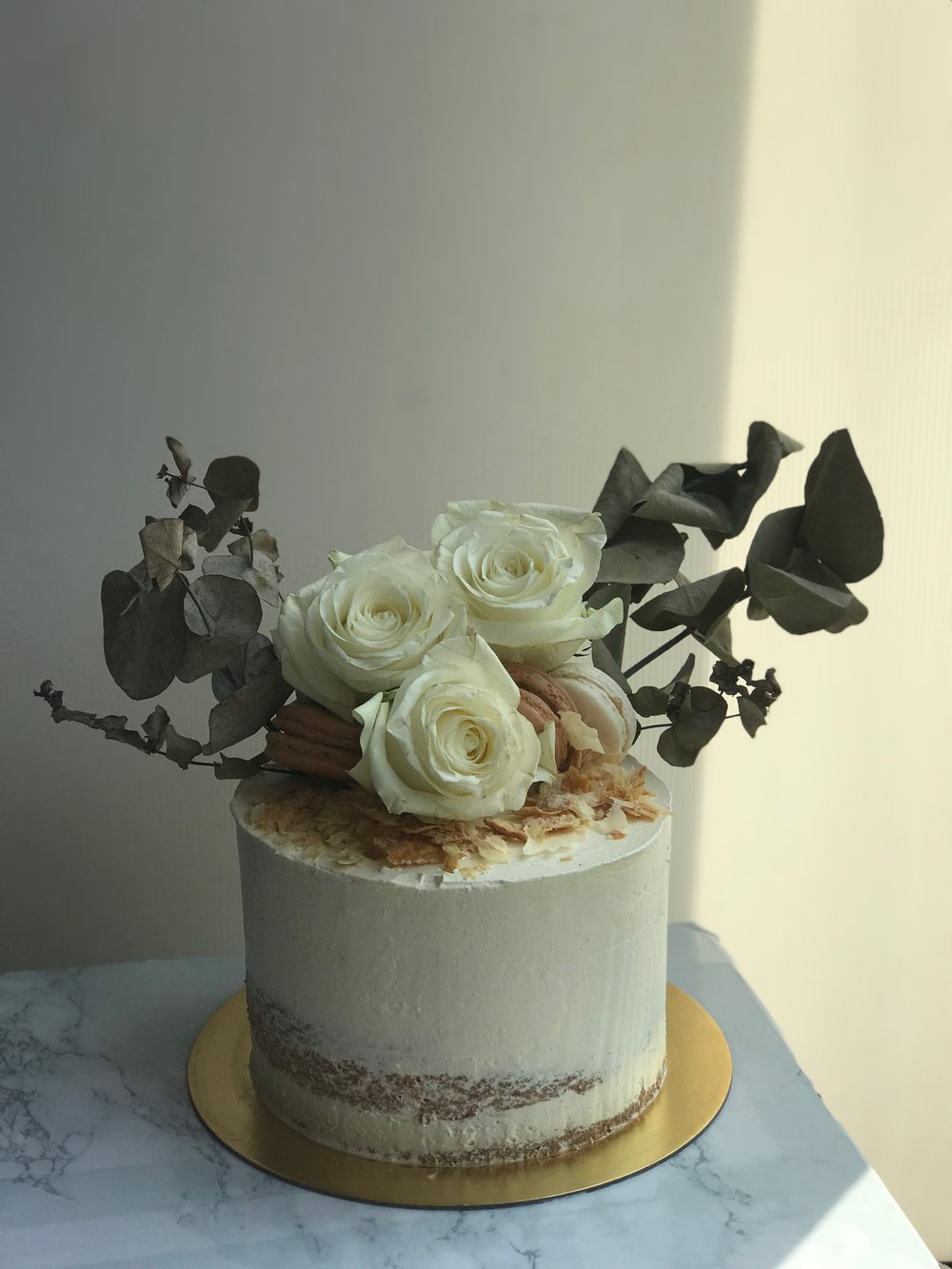 Naked Cake (With Flowers)