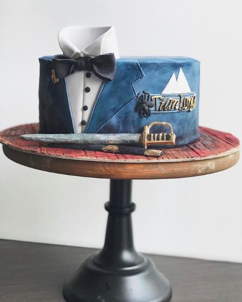 Gentleman Cake