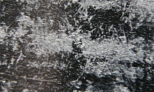 Etched zinc M009